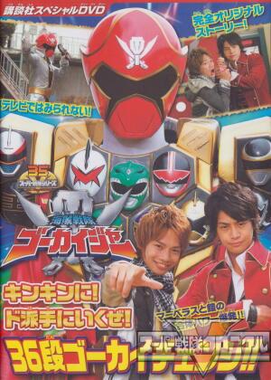Kaizoku Sentai Gokaiger Special DVD Movies English Subbed